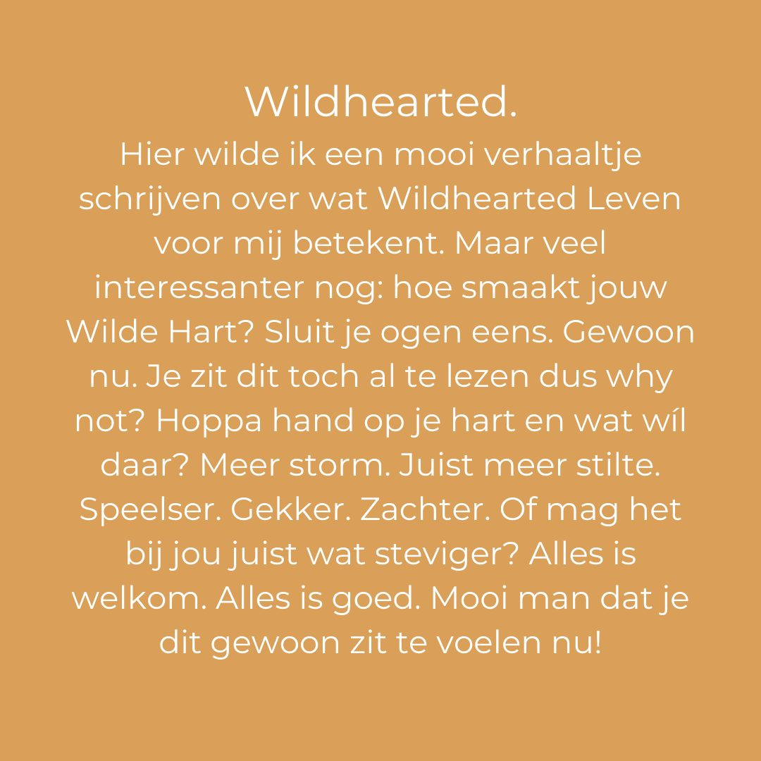 wildhearted leven