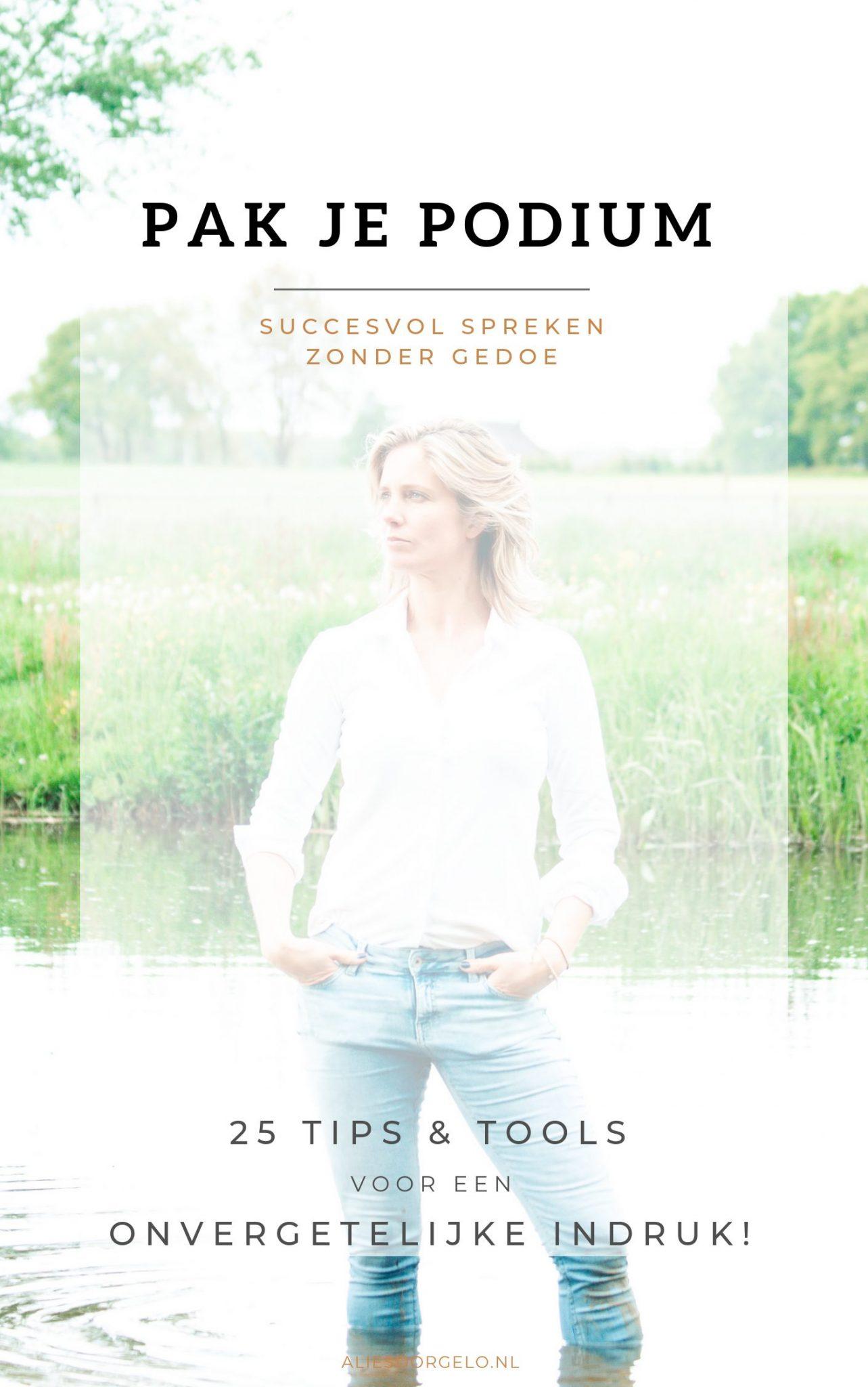 Succesvol spreken voor ondernemers - definitief